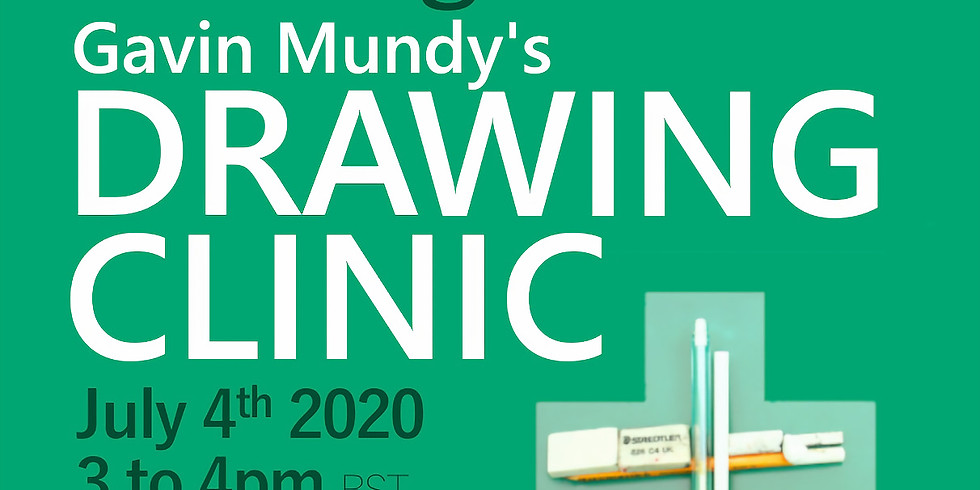 Drawing Clinic with Gavin Mundy
