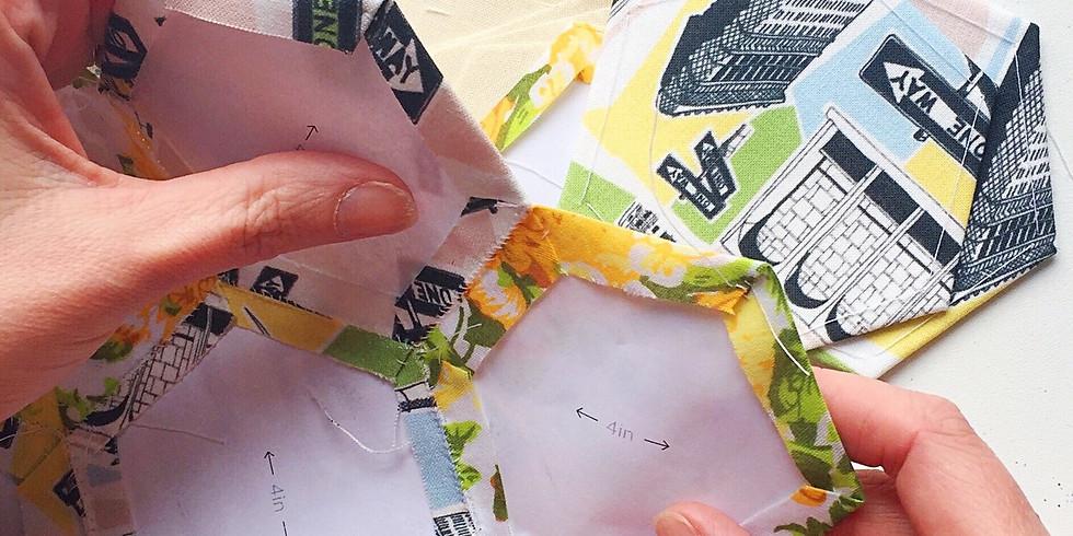 Beginners English Paper Piecing Workshop with Kate Marsden