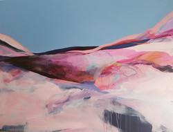 Dreamland acrylic and oil on canvas 50 x