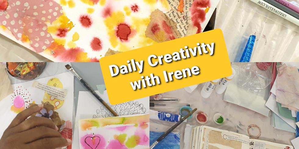 Daily Creativity Demo with Irene Caboni