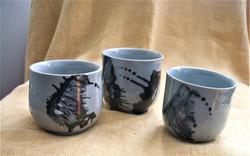 Jill Hall        Ceramic tea bowls