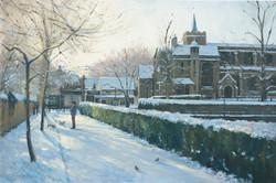 John Stillman 'Winter morning, Carshalto