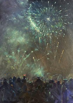 John Stillman 'Fireworks, Carshalton Par