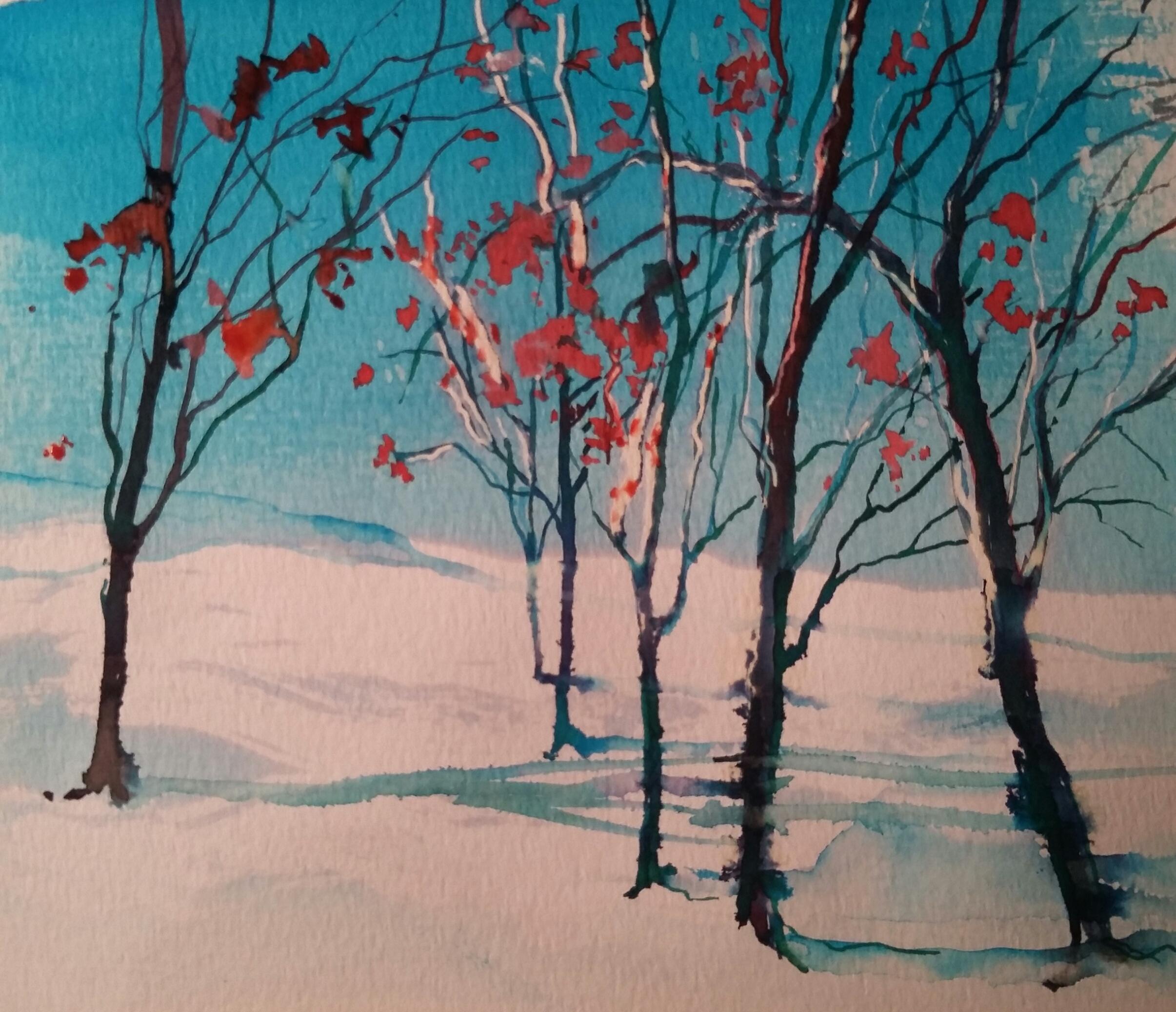 Sue Farlow Winter Trees