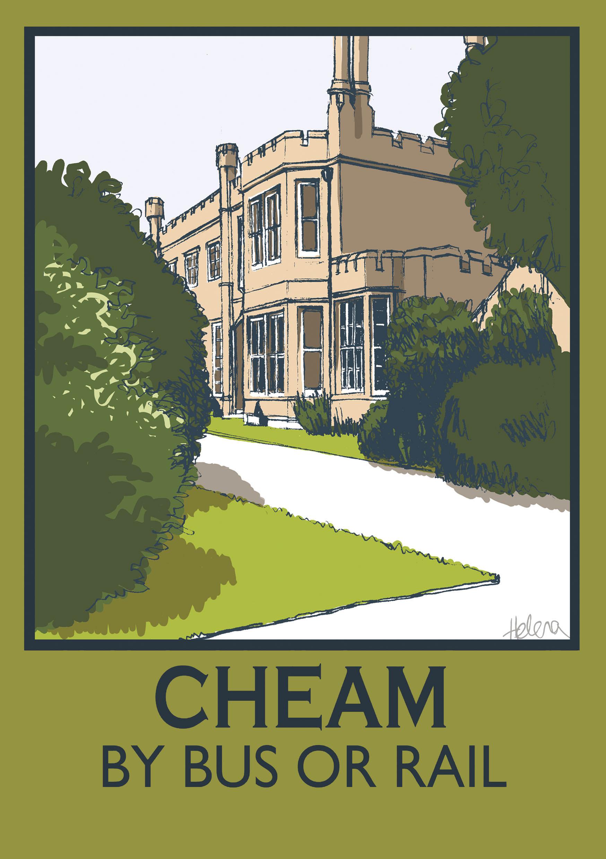 Cheam poster small