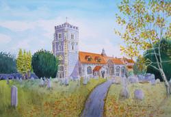 B Pennington  St. Marys Beddington in autumn