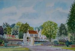 B Pennington Greyhound Hotel from Memorial Gardens
