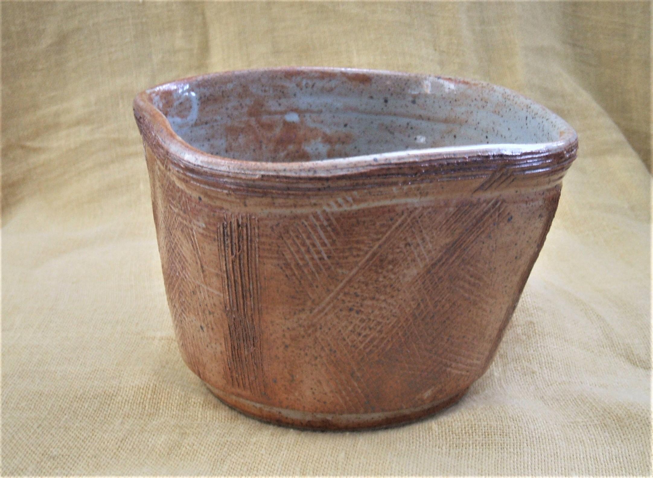 Jill Hall  Stoneware plant pot