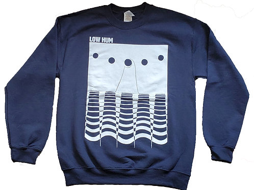 Navy Crewneck Low Hum Sweatshirt