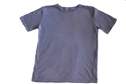 LUX Embroidered Low Hum Logo T-Shirt
