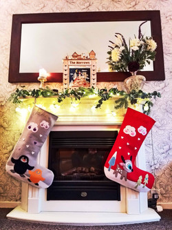 Penguin and Reindeer Stockings