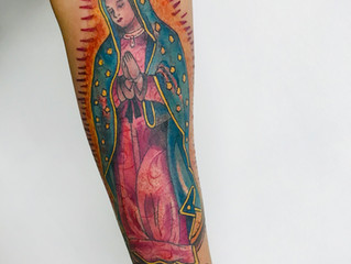 Guadalupe Virgin Tattoo