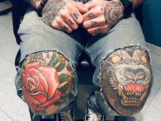 Knee Tattoos