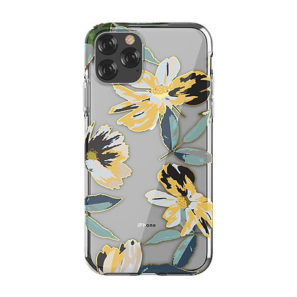 "Devia iPhone 11 Pro 5.8"" Perfume Lily Case, Yellow"