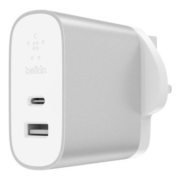 Belkin Boost Charge USB-C 27W Plus USB-A 12W Home Charger