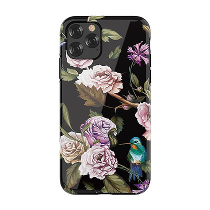 "Devia iPhone 11 Pro Max 6.5"" Perfume Lily Case, Black"