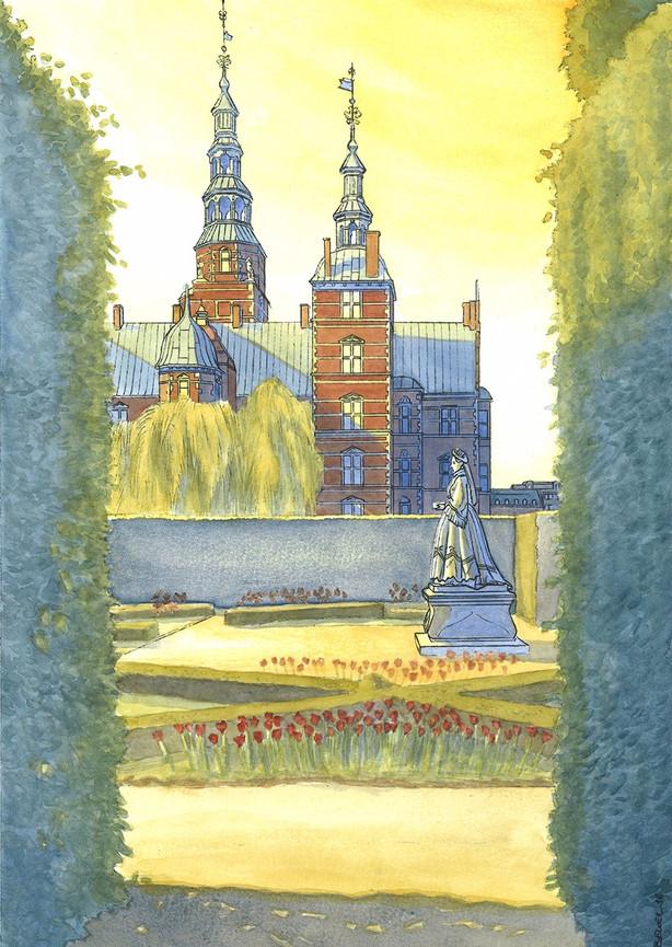 Rosenborg castle - Copenhagen
