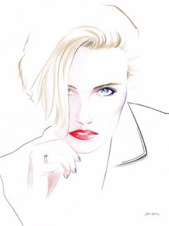 Portrait Crayon de Couleur #1 - Net_edit