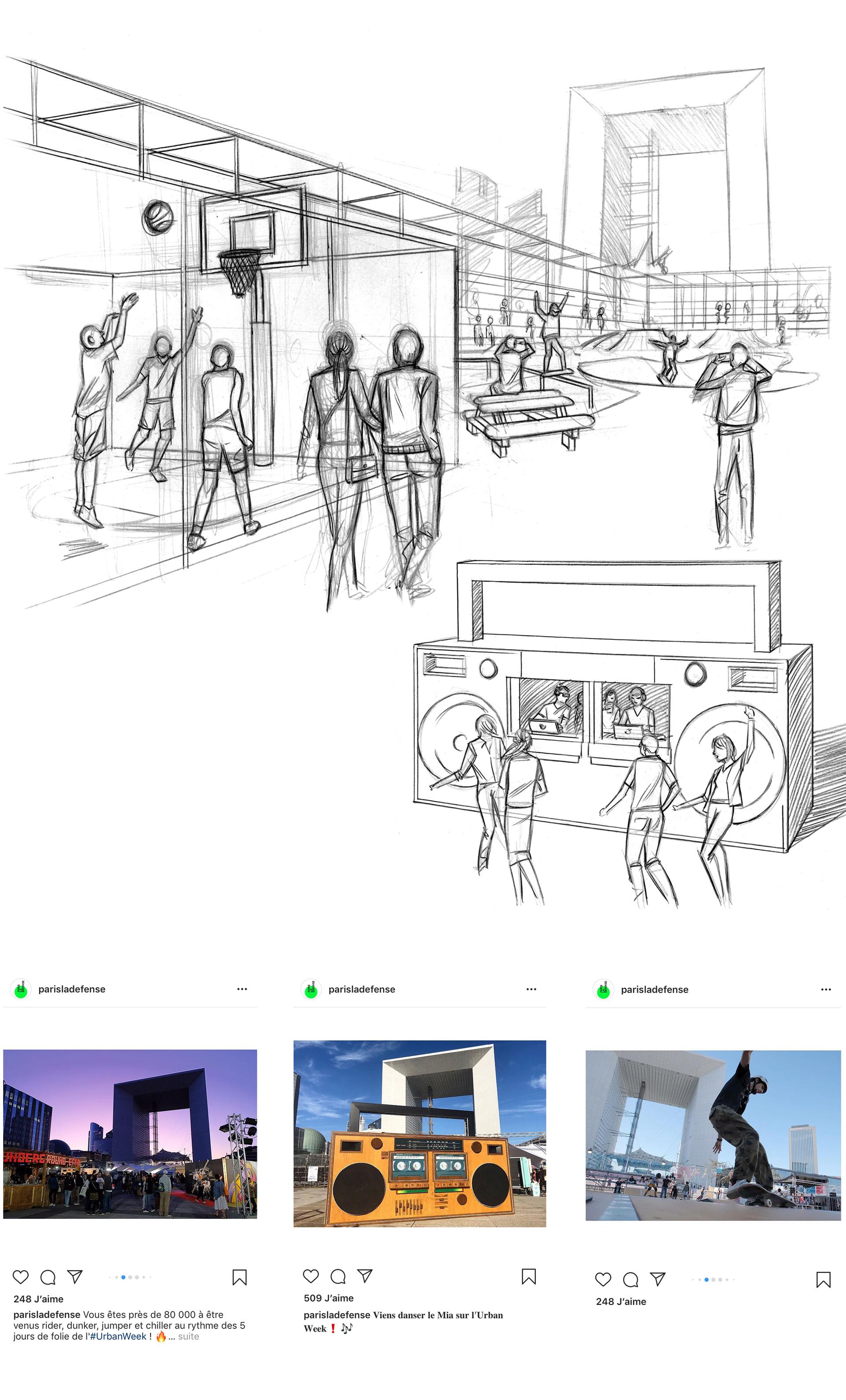 Roughs Urban Week la Défense 2019