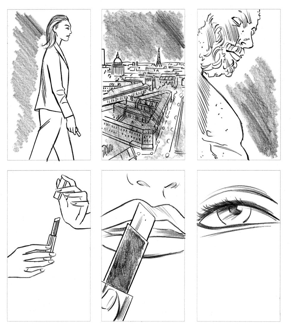 Storyboard YSL Beauty