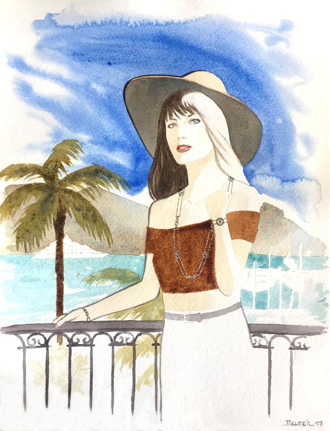 Illustration pour Hells & Bulles, bijouterie basée à Saint-Jean-Cap-Ferrat.
