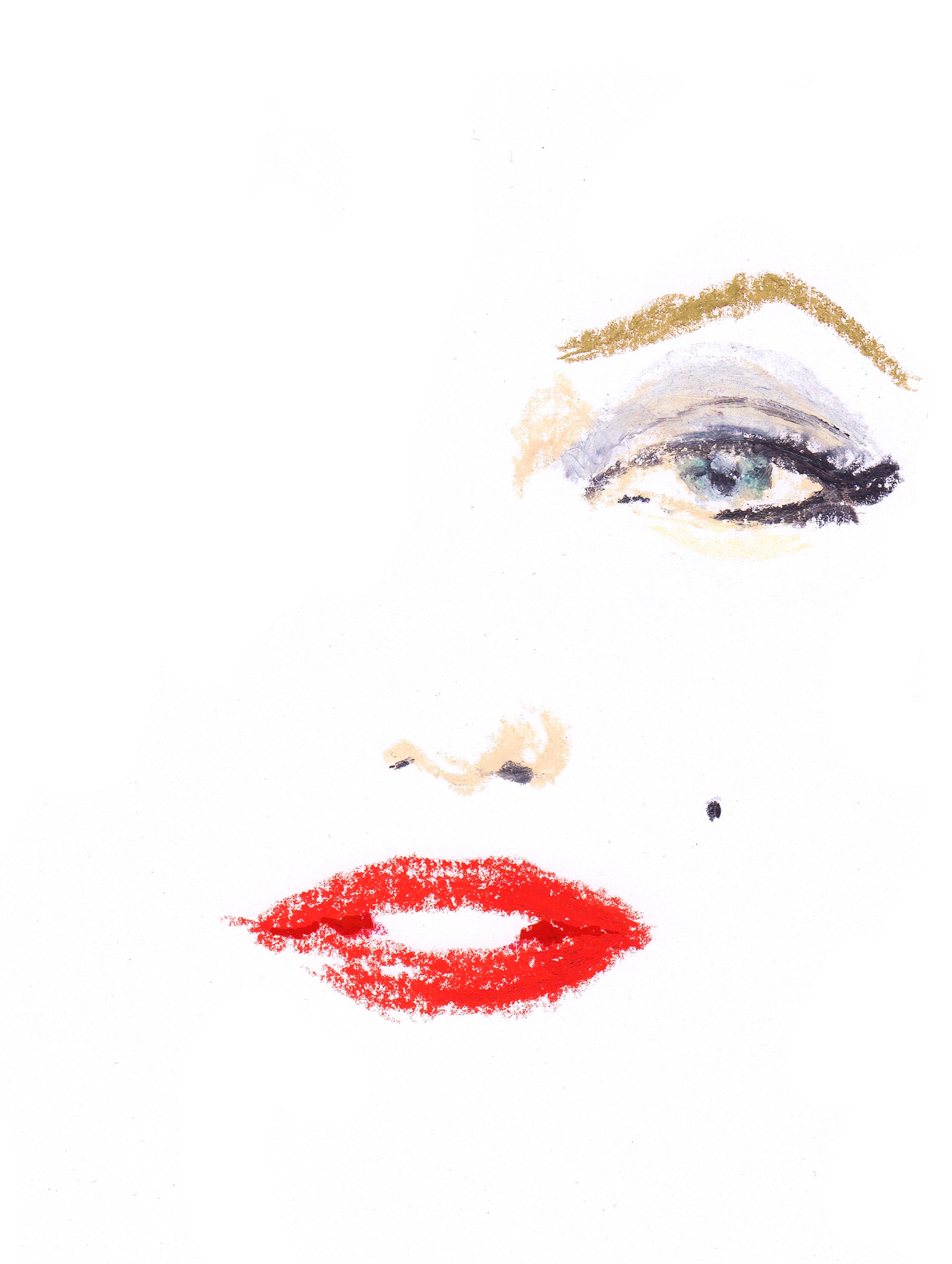 Marilyn Monroe par Geoffrey Beloeil illustrateur Paris