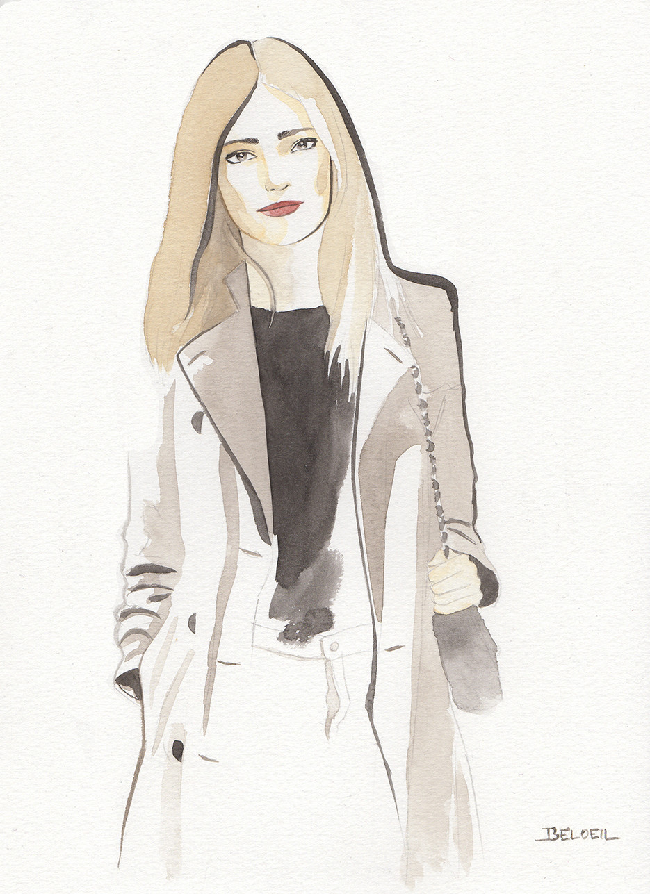 Illustration Geoffrey Beloeil, illustrateur Paris
