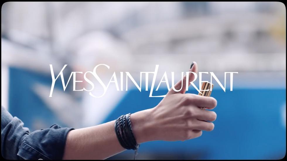 Yves Saint Laurent - Rouge Volupté Shine, storyboard de Geoffrey Beloeil.