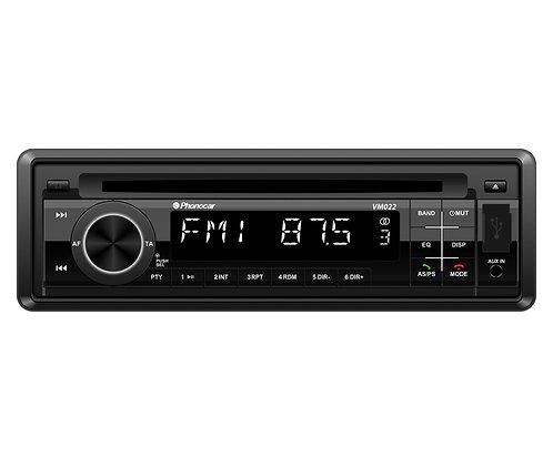 VM022 Autoradio Dab+ avec lecteur CD, USB, carte SD, bluetooth