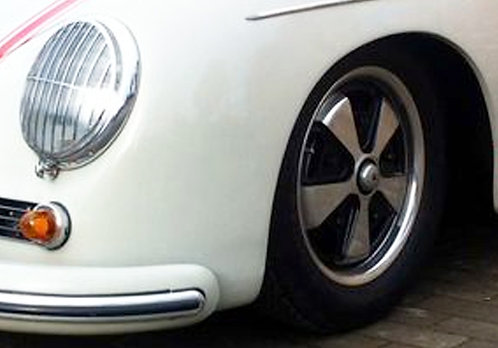 Jantes ancienne aluminium Porsche type FUSHS