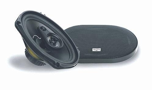 Haut-parleur Basic 3 vioes avec grille 120 Watt 160x240