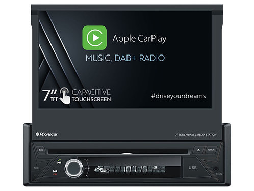 VM046 Autoradio 1 Din Carplay DAB PHONOCAR