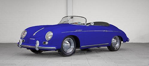 Réplique Porsche 356 Speedster - Bleu marine