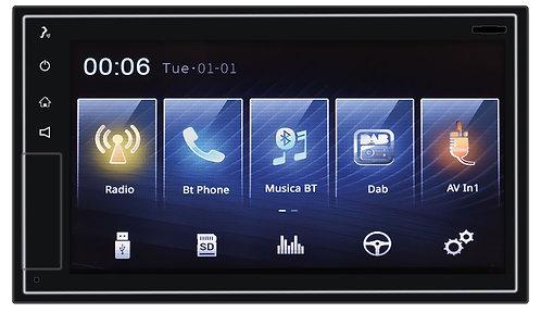 VM013 Mediastation Dab+ CarPlay/AndroidAuto Wireless