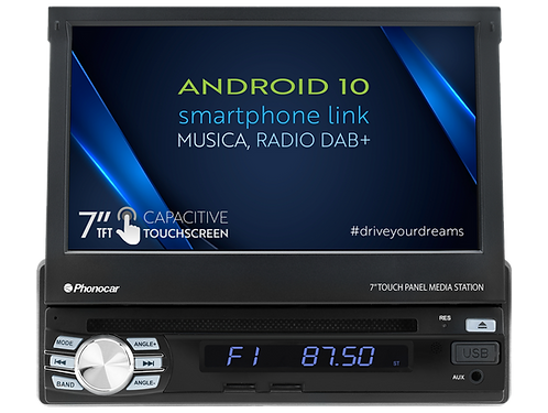 VM045 Autoradio 1Din multimedia Android PHONOCAR
