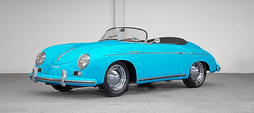 Réplique Porsche 356 Speedster - Bleu pastel