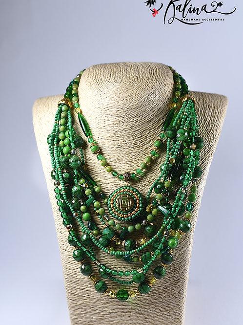 """""""Elegant ethnics"""", Emerald"""
