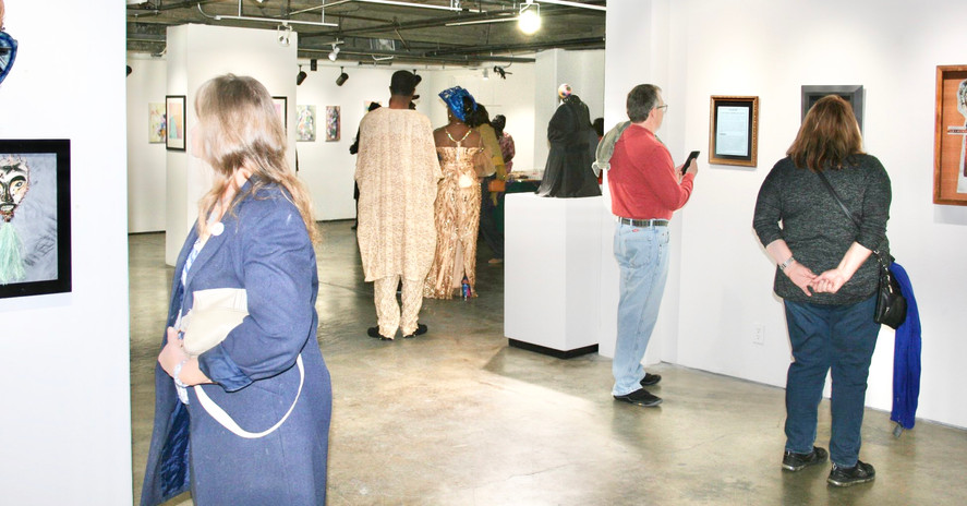 Audience on the Exhibition