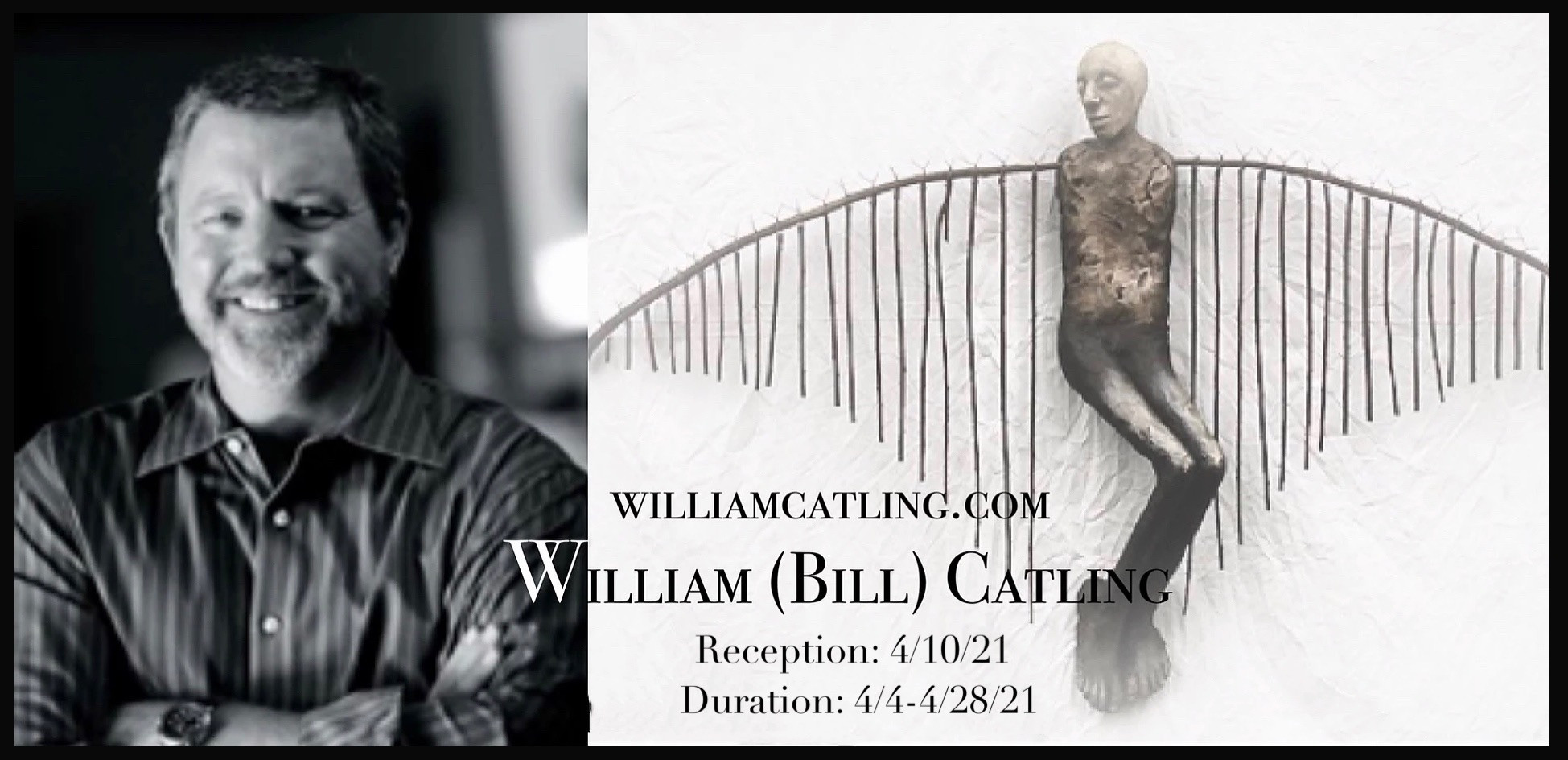 William (Bill) Catling's solo exhibition