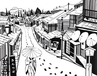 """""""Snow in Kyoto"""""""
