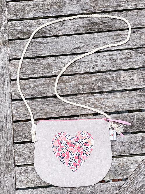 Pink Wiltshire purse
