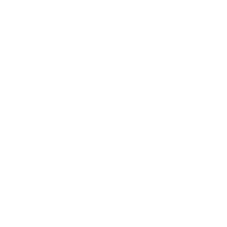 White Bēhance Icon
