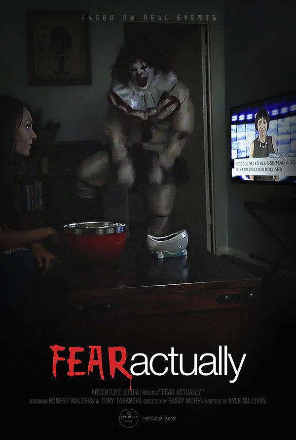 Fear Actually Poster, SassyMohen