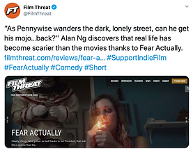 Fear Actually Film Threat