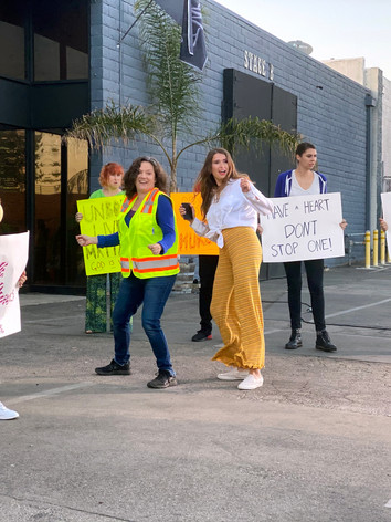 BTS | Protest Scene