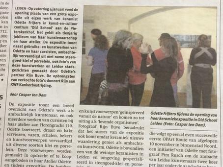Leids Nieuwsblad, 9 januari 2020