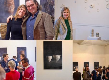 Januari 2020 was keramiek en porselein te zien in Old School van Odette Frijters