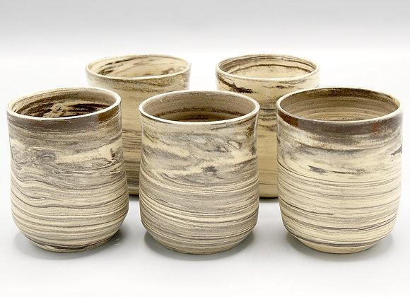 Bekers (steengoed klei)