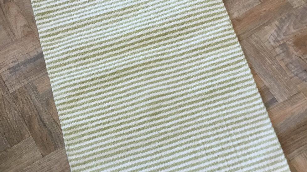 Lime Green Stripe Walton Lifestyle Rug