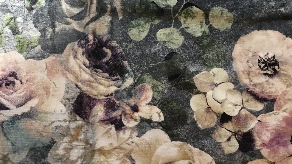 Jane Churchill Velvet  Remnant